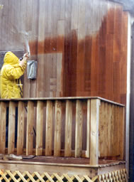 Beautify your natural wood siding.